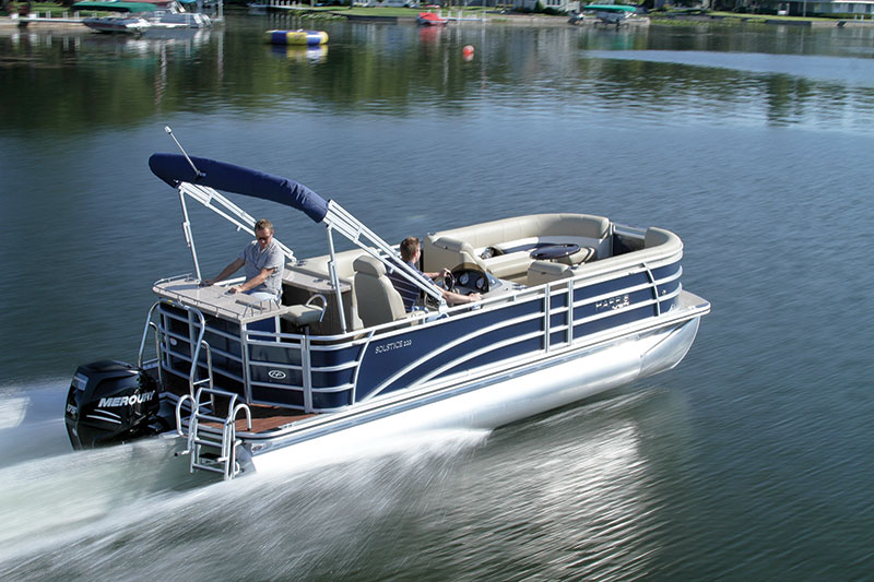 Harris FloteBote Solstice 220 EB – Boating World on