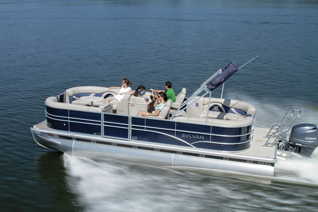 Sylvan pontoon boats best boat 2017 for Syvlan