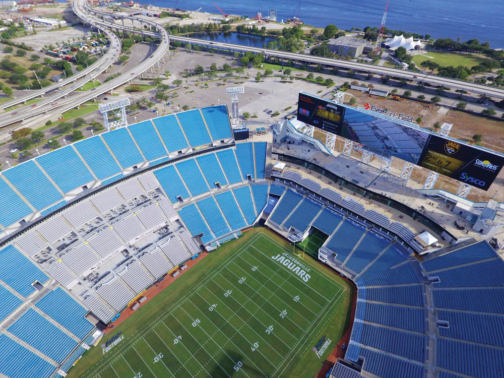 Everbank Stadium, Jacksonville, Fla.
