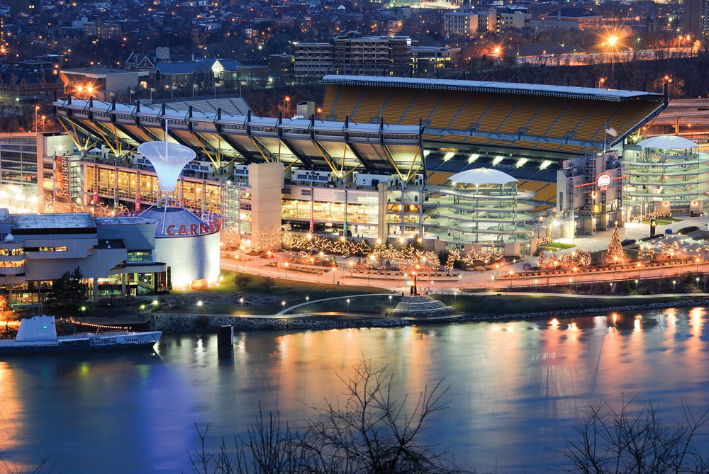 Heinz Field, Pittsburgh – Photo Credit: Lock Wall One Marina