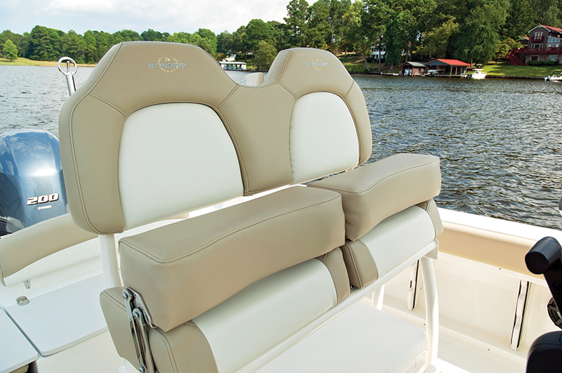 Do-It-All Center Console — Stingray 236CC – Boating World